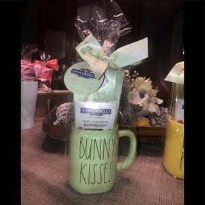 NWT RAE DUNN Easter mug Ghirardelli chocolates